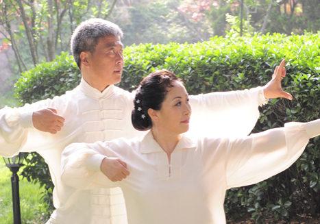 Qing Bo en lena - De Leeuwenpoort